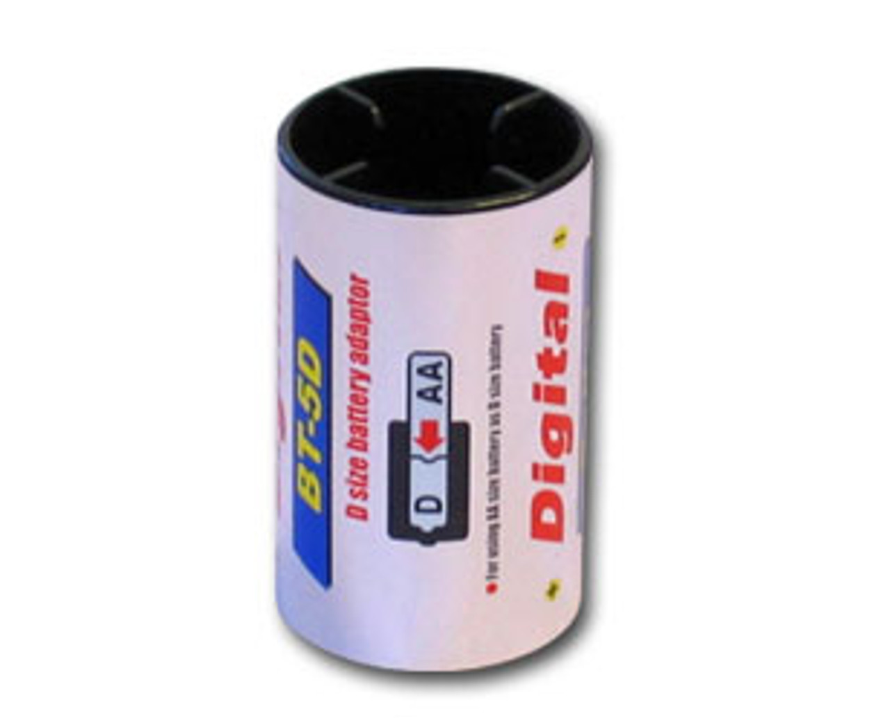 Battery Adaptor: Convert AA size to D size Battery