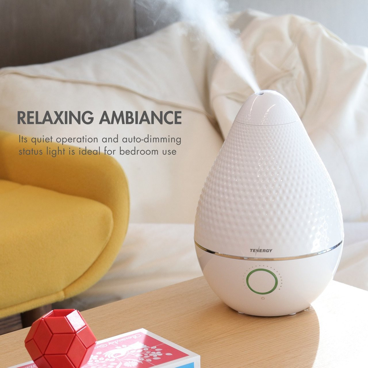 Pluvi 2.5L Ultrasonic Cool Mist Humidifier