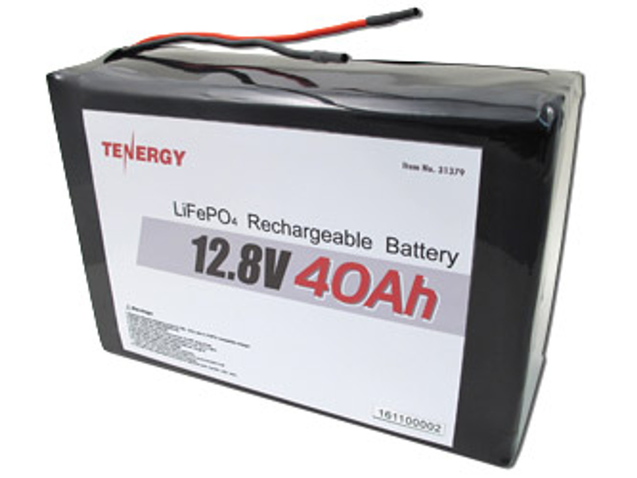 AT(i): Tenergy 12.8V 40Ah LiFePO4 Battery Pack with PCB (Short Pack) (DGR)