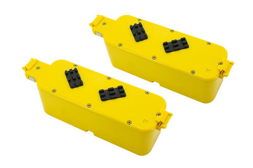 Tenergy Replacement Battery with hard case (Yellow Color) for Roomba APS 4905 400 series Vacuum Cleaner, 2-Pack