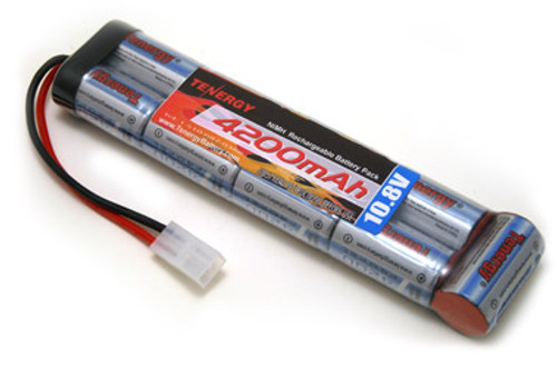 AT: Tenergy 10.8V 4200mAh NiMH Rechargeable Battery Pack (9S1P, 45.4Wh, 30A Rate, Tamiya Connector)