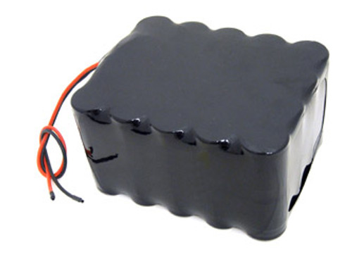 AT: Tenergy 24V 13000mAh NiMH Rechargeable Battery Pack (20S1P, 312.0Wh, 13A Rate)