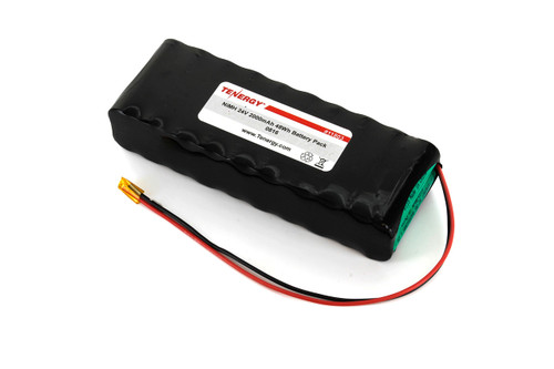 AT: Tenergy 24V 2000mAh NiMH Rechargeable Battery Pack (20S1P, 48.0Wh, 4A Rate)