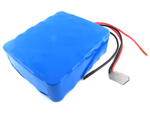 AT: Tenergy 36V 4200mAh NiMH Rechargeable Battery Pack (30S1P, 151.2Wh, 30A Rate, Bare Leads + Standard Tamiya Connector)