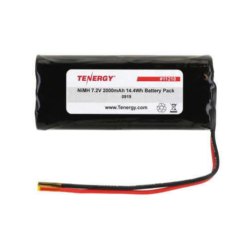 AT: Tenergy 7.2V 2000mAh NiMH Rechargeable Battery Pack (6S1P, 14.4Wh, 6A Rate) Flat