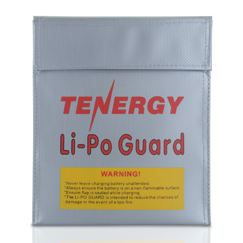Tenergy Fireproof and explosion-proof lipo safe bag, 7x9inch