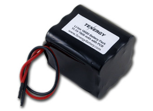AT: Tenergy Li-ion 11.1V 7800mAh Rechargeable Battery Pack w/ PCB (3S3P, 86.58Wh, 5A Rate)