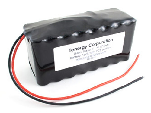 AT: Tenergy Li-ion 18650 11.1V 17,600mAh Rechargeable Battery Pack w/ PCB (3S8P, 195.36Wh, 9A Rate)**DGR-A
