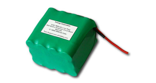 AT: Tenergy Li-ion 18650 14.8V 7800mAh Rechargeable Battery Pack w/ PCB (4S3P, 115.44Wh, 5A Rate) **DGR-A