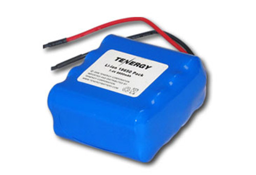 AT: Tenergy Li-Ion 18650 7.4V 8800mAh Rechargeable Battery Pack w/ PCB (2S4P, 65.12Wh, 5A Rate)