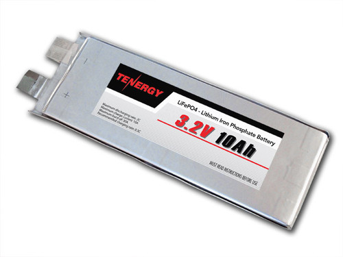 3.2V 10Ah LiFePO4 (Lithium Iron Phosphate) Rechargeable Battery (DGR-A)