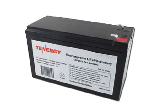 Tenergy 12.8V 7Ah LiFePO4 Rechargeable Battery