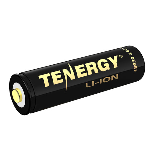Tenergy TUV Certified (to UL2054 standard) Li-ion 18650 3.63V 3250mAh Rechargeable Battery w/PCB and PTC