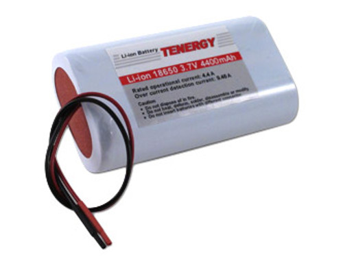 AT: Tenergy Li-Ion 3.7V 4400mAh Rechargeable Battery w/ PCB (1S2P, 16.28Wh, 6A Rate)