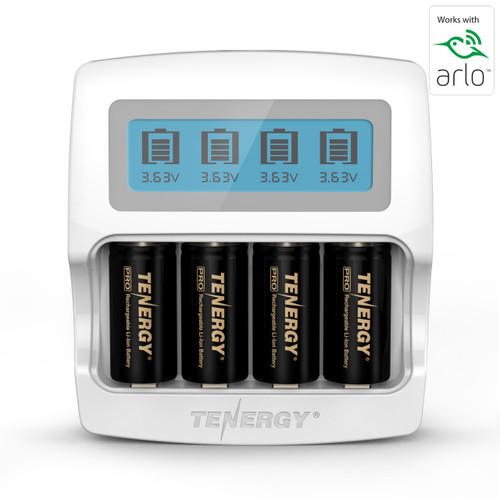 750mAh 3.7V 8 Pack /& Flashlight for Arlo Security Wireless Cameras VMC3030//VMK3200//VMS3330//3430//3530 CR123A Rechargeable Li-ion Battery Arlo Rechargeable Batteries with Charger