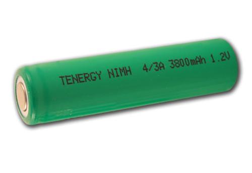 Tenergy 4/3A 17670 Size NiMH 3800mAh Rechargeable Batteries