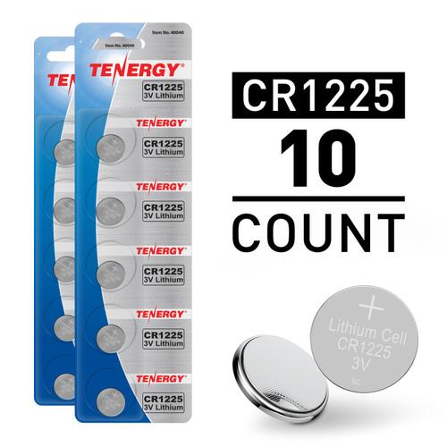 10pcs CR1225 3V Lithium Button Cells