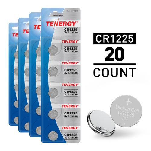 20pcs CR1225 3V Alkaline Button Cells
