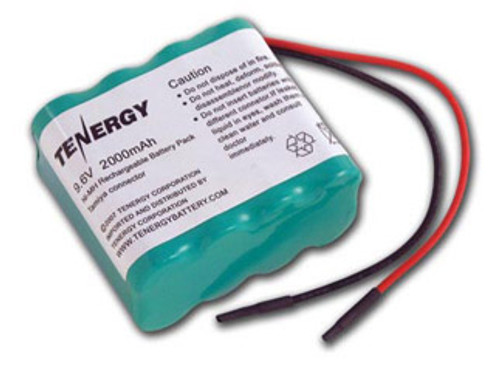 AT: Tenergy NiMH 9.6V 2000mAh Rechargeable Battery Pack (8S1P, 19.2Wh, 3.8A Rate)