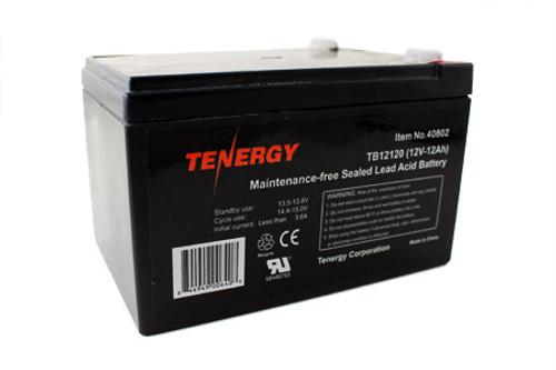 Tenergy 12V 12AH (TB12120) Maintenance-free Sealed Lead Acid (SLA) Battery