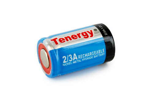 Tenergy 2/3A 1600mAh NiMH Rechargeable Battery