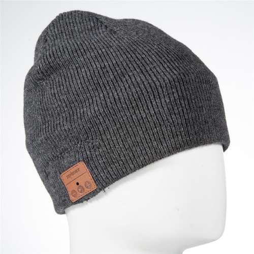 ... Tenergy Bluetooth Beanie w  Basic Knit (Color  Charcoal) 235212d1cf46