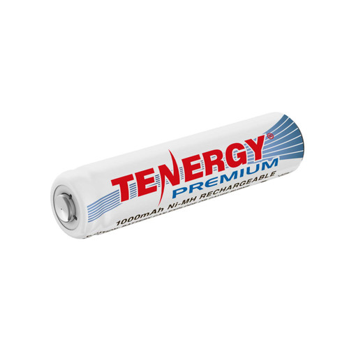 Tenergy Premium AAA 1000mAh NiMH Rechargeable Battery