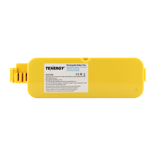 Tenergy Replacement Hard Case Battery for Roomba APS 4905 400 Series Vacuum Cleaner