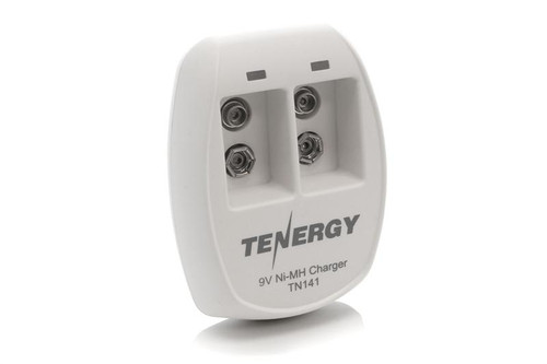 Tenergy TN141 Smart 2-Bay 9V NiMH Battery Charger