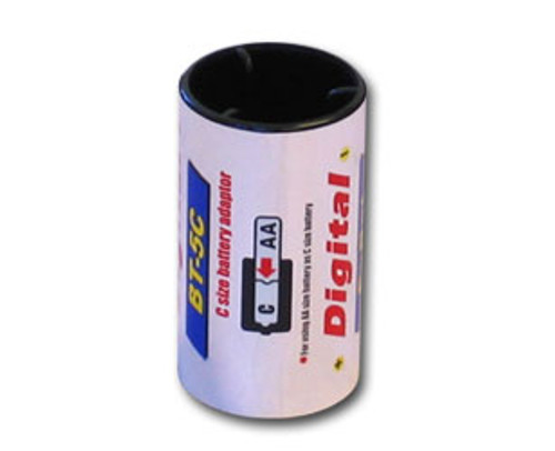 Battery Adaptor: Convert AA size to C size Battery