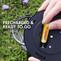 Tenergy Solla Rechargeable NiMH AA Battery, 1000mAh Solar Batteries for Solar Garden Lights, 12 PCS, UL Certified
