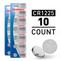 10pcs CR1225 3V Alkaline Button Cells