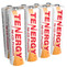 Tenergy Premium NiCd  AA 1100mAh Rechargeable Batteries for Solar Lights  8 Pack