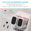 Combo: Tenergy TN141 2-bay 9V Charger + Centura NiMH 9V 200mAh Rechargeable Batteries, 4-pack