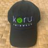 Koru Logo Organic Cotton Baseball Cap
