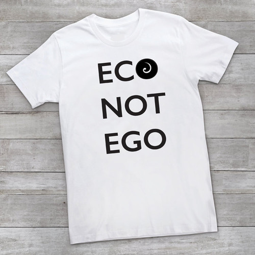 ECO NOT EGO Organic Cotton Bold Statement Tee