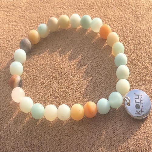 Koru Natural Stone Bracelet
