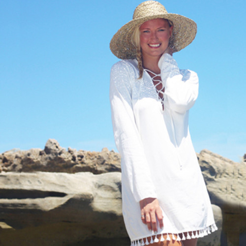 Koru Organic Cotton Summer Cover with Long Sleeves