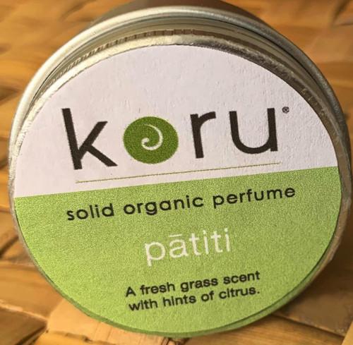 Koru Pātītī  - Koru Swimwear Organic Solid Perfume
