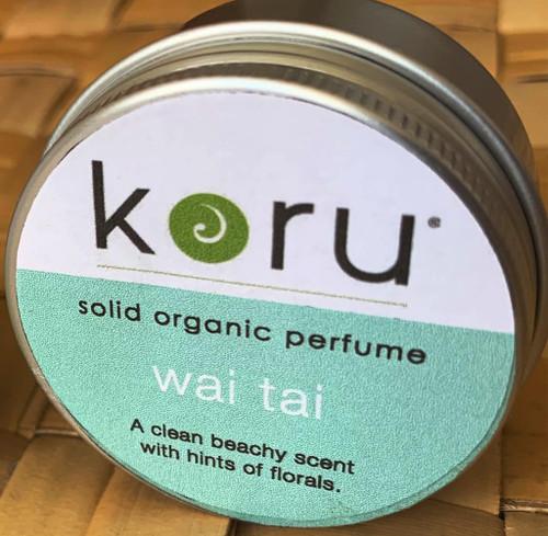 Koru Wai Tai  - Koru Swimwear Organic Solid Perfume