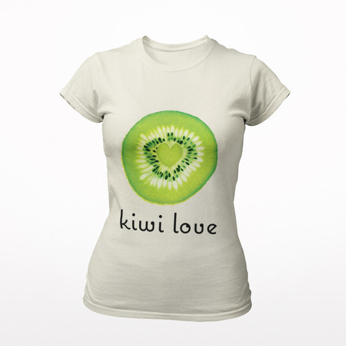 Kiwi Love Organic Cotton Tee