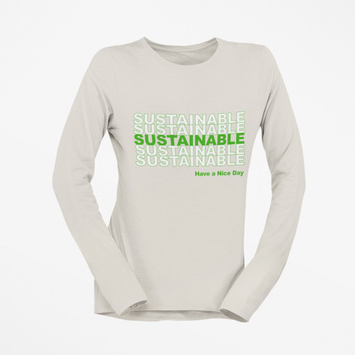 """Sustainable"" Organic Cotton Tee"