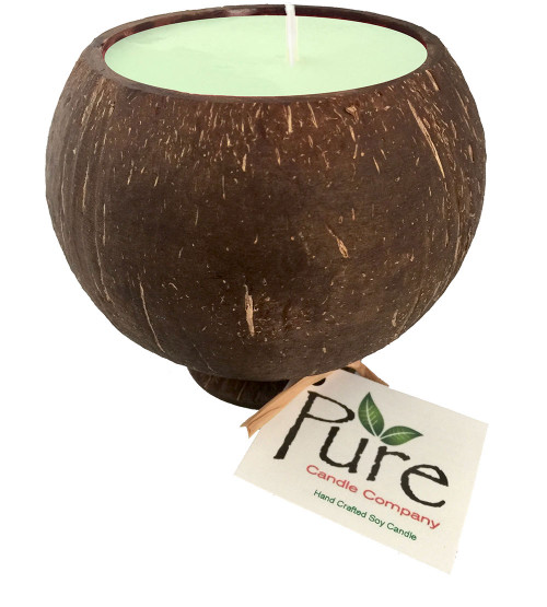 Pure Real Coconut Shell Soy Candle