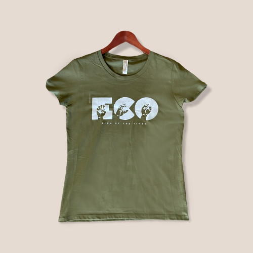 Eco Sign of the Times  Organic Cotton Woman's Fitted Tee