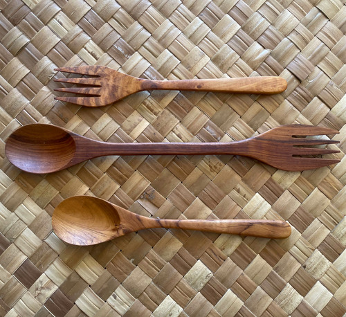 Acacia Wood Sustainable Cooking Utensils - Koru Eco Brand Home