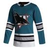 San Jose Sharks Men's Adidas Authentic 30th Anniversary Alternate Jersey