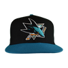 San Jose Sharks Men's  New Era 2 Tone Snapback Hat