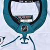 2021 Greg Pateryn Sharks Adidas Game Worn White Away Jersey