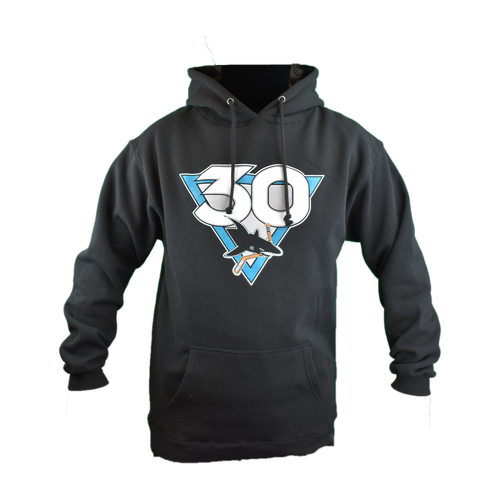 San Jose Sharks Men's Graphic Sportswear 30th Anniversary Primary Hoodie