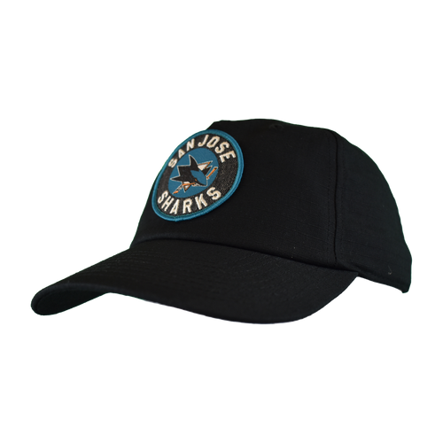 San Jose Sharks Men's  American Needle Patch Tech Adjustable Hat